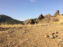 Montagnes en Crimée Image libre de droits