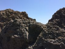 Montagnes en Crimée Images libres de droits