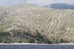 Montagnes en Croatie photographie stock