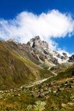 Montagnes en Géorgie Images stock