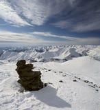 Montagnes en Géorgie 6 Images stock