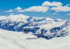 Montagnes en Géorgie Photo libre de droits
