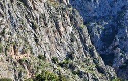 Montagnes en Grèce Photographie stock libre de droits