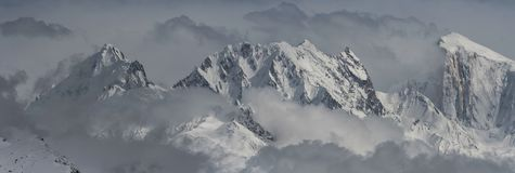 Montagnes en Himalaya Photo libre de droits