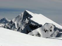 Montagnes en hiver Images libres de droits