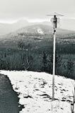 Montagnes en hiver Images stock