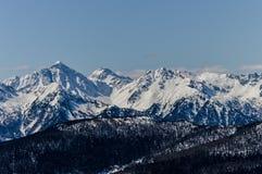 Montagnes en Italie Images stock