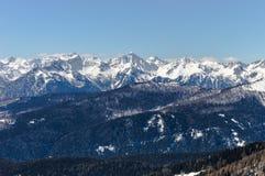 Montagnes en Italie Photo stock
