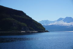 Montagnes en Norvège Photographie stock libre de droits