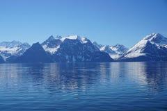 Montagnes en Norvège Images libres de droits