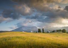 Montagnes en parc national image libre de droits