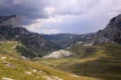 Montagnes en parc national de Durmitor, Monténégro Photos libres de droits