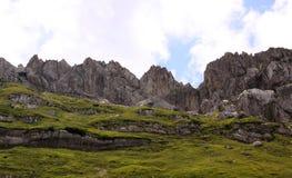 Montagnes en parc national de Durmitor, Monténégro Images libres de droits