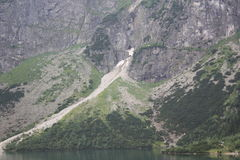 Montagnes en Pologne Images libres de droits
