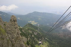 Montagnes en Pologne Photographie stock libre de droits