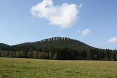 Montagnes en Pologne Photos stock