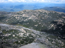 Montagnes en stationnement national photographie stock