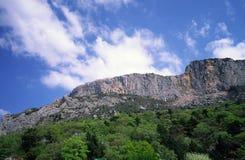 Montagnes et ciel Photographie stock