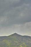 Montagnes et ciel Image stock