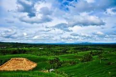 Montagnes et ciel bleu Images libres de droits