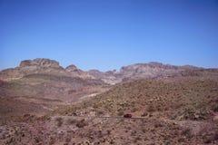 Montagnes et collines au Nevada images libres de droits