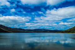Montagnes et fleuves Photo libre de droits