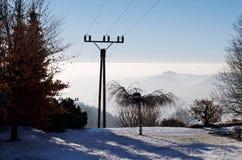 Montagnes et forêt Image libre de droits