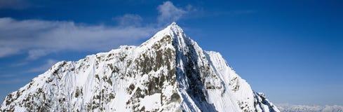 Montagnes et glaciers dans Wrangell-Rue Photographie stock