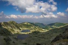 Montagnes et lacs en Bulgarie Photographie stock libre de droits