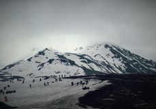 Montagnes et nature Image stock