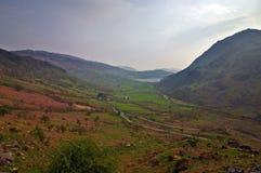 Montagnes et pâturages Photos libres de droits