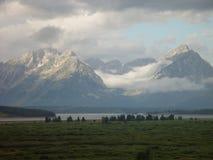 Montagnes et prairies IV Photo stock