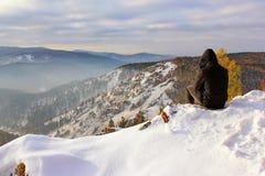 Montagnes et silence Photos libres de droits