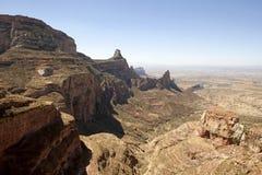 Montagnes, Ethiopie Images stock
