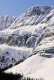 Montagnes figées Image libre de droits