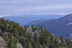 Montagnes fumeuses Image libre de droits