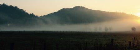 Montagnes fumeuses Photo libre de droits