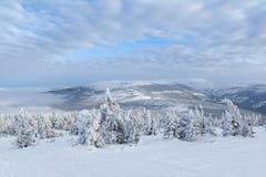 montagnes géantes Images libres de droits