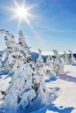 Montagnes (géantes) de Krkonose, République Tchèque Photographie stock