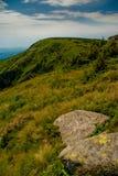 Montagnes géantes en été Image stock