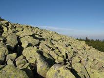 Montagnes géantes en Pologne et Tchèque Image libre de droits
