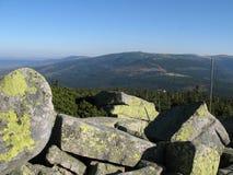 Montagnes géantes en Pologne et Tchèque Photos libres de droits