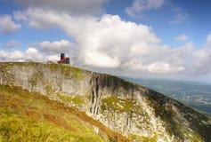 Montagnes géantes Pologne Images libres de droits