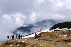 Montagnes géantes, République Tchèque Images libres de droits