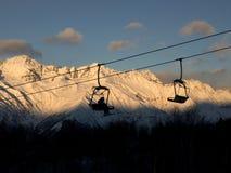 Montagnes géorgiennes photographie stock libre de droits