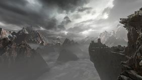 Montagnes illustration de vecteur