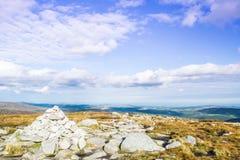 Montagnes Irlande de Glendalough Wicklow Images stock
