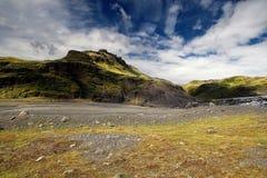 Montagnes islandaises Photographie stock libre de droits