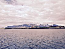 Montagnes islandaises Images stock