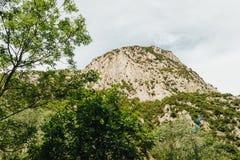 Montagnes italiennes, Abruzzo Image libre de droits